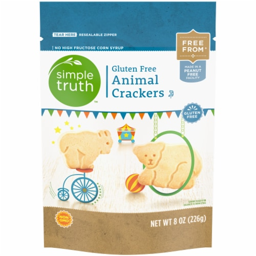 Simple Truth™ Gluten Free Animal Crackers Perspective: front