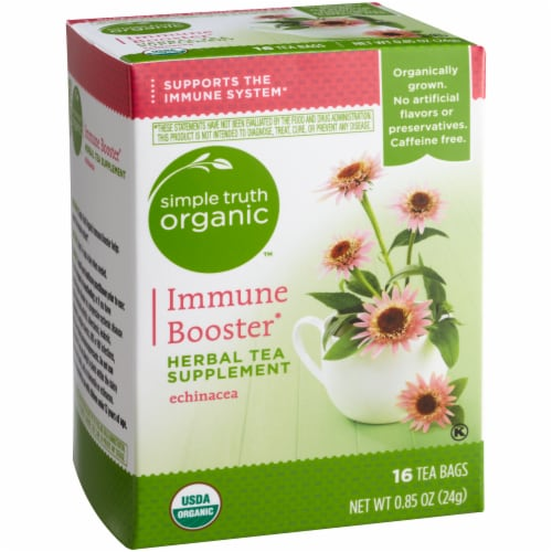 Simple Truth Organic™ Immune Booster Herbal Tea Supplement Perspective: front