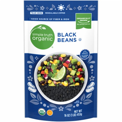 Simple Truth Organic™ Dry Black Beans Perspective: front