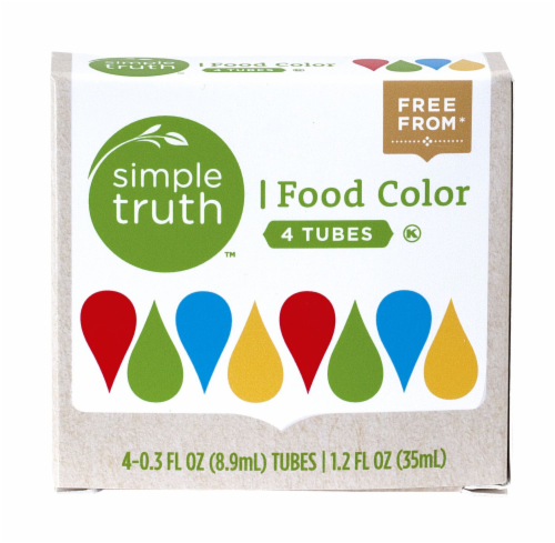Simple Truth™ Natural Food Color Tubes Perspective: front