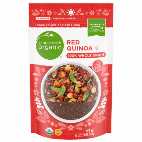 Simple Truth Organic™ Red Quinoa Perspective: front