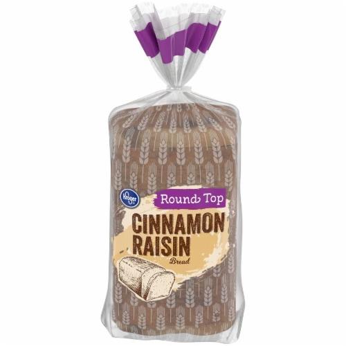 Kroger® Round Top Cinnamon Raisin Bread Perspective: front