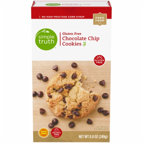 Simple Truth™ Gluten Free Chocolate Chip Cookies Perspective: front