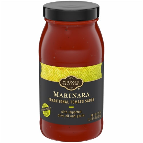 Private Selection® Marinara Traditional Tomato Sauce Perspective: front