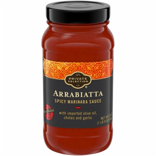 Private Selection® Arrabiatta Spicy Marinara Sauce Perspective: front
