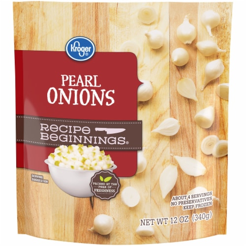 Kroger® Recipe Beginnings® Pearl Onions Perspective: front
