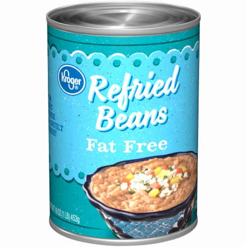 Kroger® Fat Free Refried Beans Perspective: front