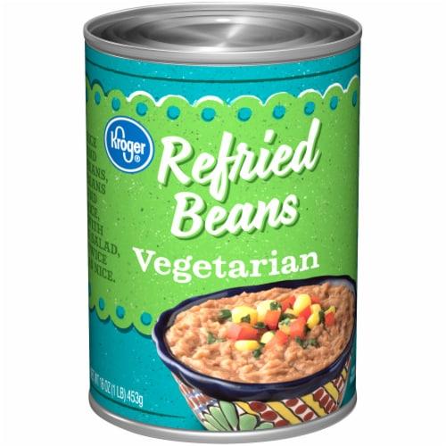Kroger® Vegetarian Refried Beans Perspective: front