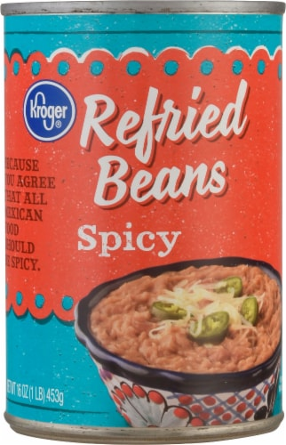 Kroger® Spicy Refried Beans Perspective: front