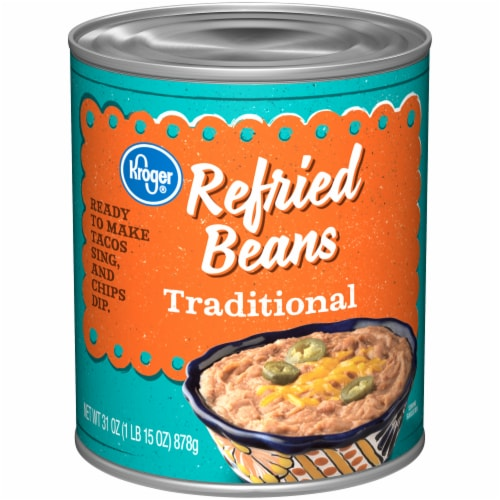 Kroger® Traditional Refried Beans Perspective: front