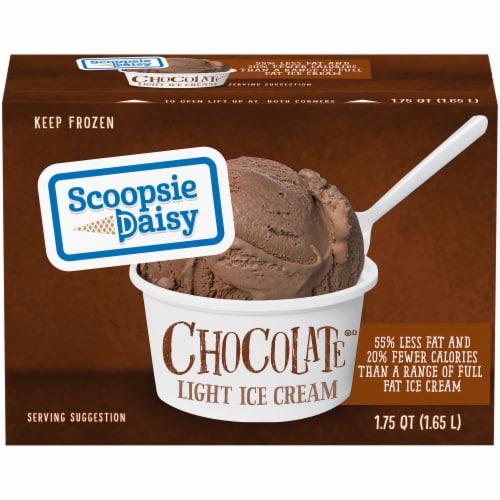 Scoopsie Daisy Chocolate Light Ice Cream Perspective: front
