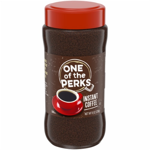 One of the Perks Instant Coffee Perspective: front