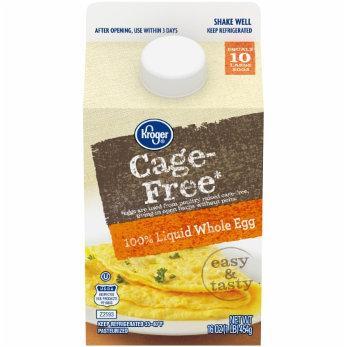 Kroger® Cage Free Liquid Whole Eggs Perspective: front