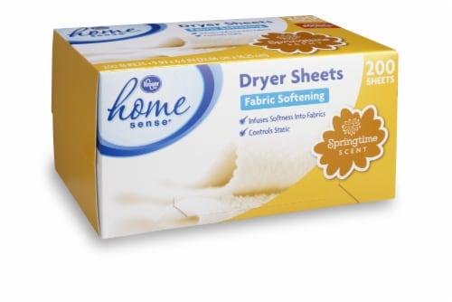 Kroger® Springtime Scent Dryer Sheets Perspective: front