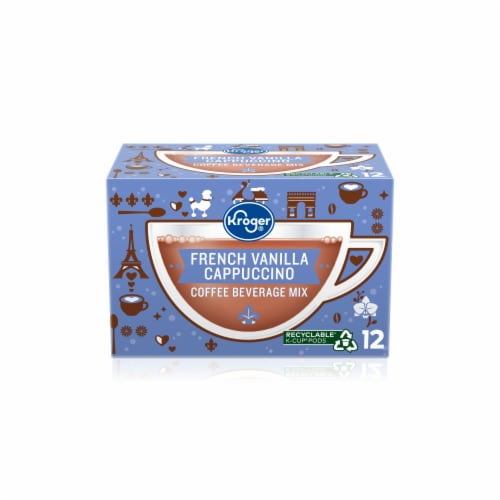 Kroger® French Vanilla Flavored Cappuccino K-Cup® Pods Perspective: front