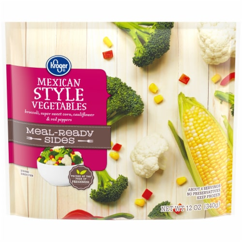 Kroger® Meal-Ready Sides Mexican Style Vegetables Perspective: front