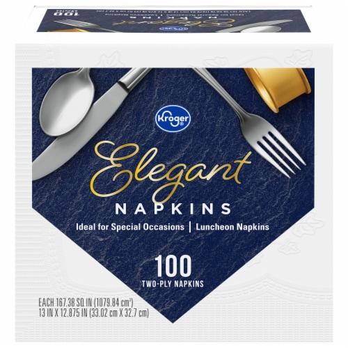 Kroger® Elegant Luncheon Napkins Perspective: front
