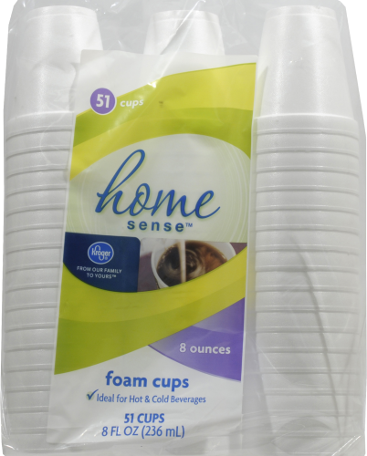 Kroger® Foam Cups Perspective: front