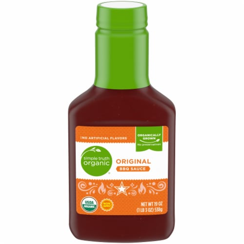 Simple Truth Organic® Original BBQ Sauce Perspective: front