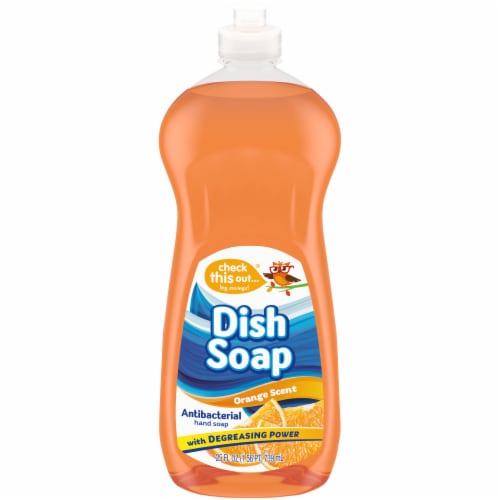 Check This Out® Orange Dish Soap Perspective: front