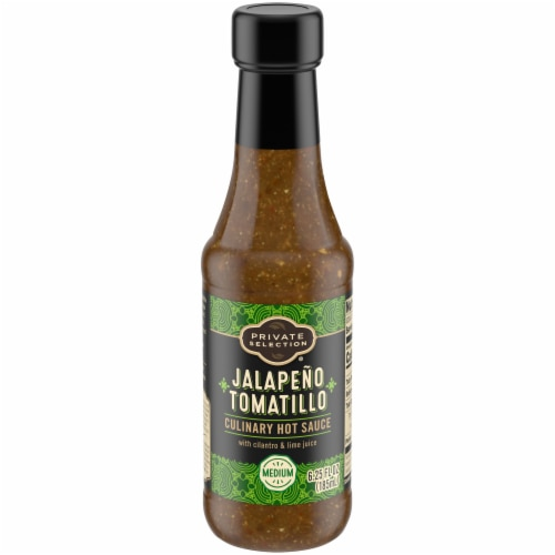 Private Selection® Jalapeno Tomatillo Hot Sauce Perspective: front