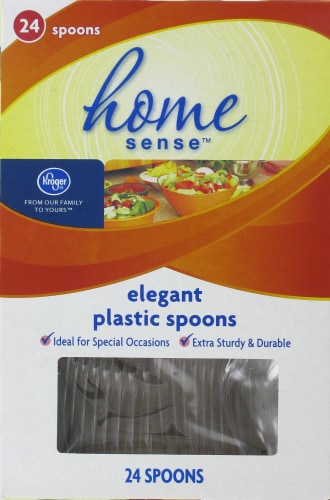 Kroger  Elegant Plastic Spoons Perspective: front