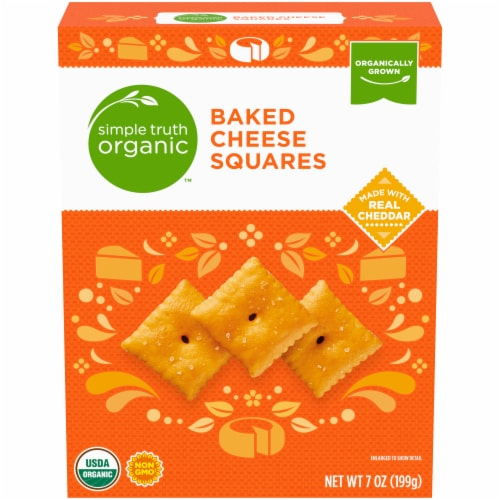 Simple Truth Organic™ Baked Cheese Squares Perspective: front