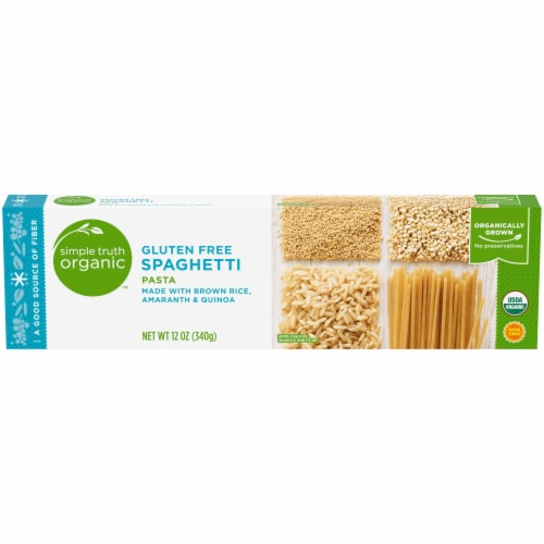 Simple Truth Organic™ Gluten Free Spaghetti Pasta Perspective: front