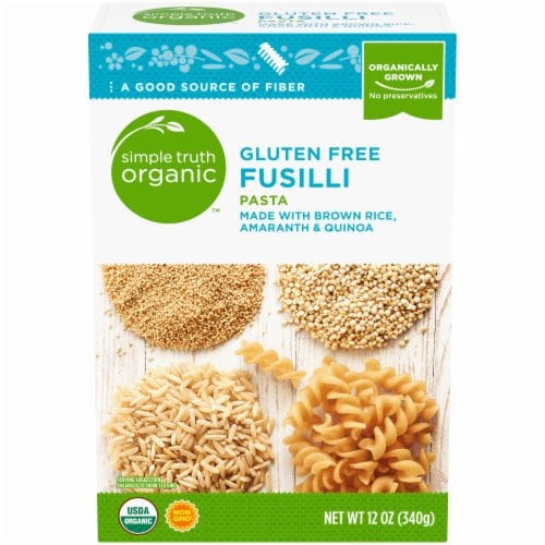 Simple Truth Organic™ Gluten Free Fusilli Pasta Perspective: front