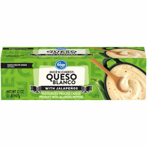 Kroger® Nice'N Cheesy Queso Blanco with Jalapenos Perspective: front