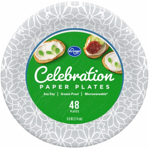 Kroger® Celebrations Paper Plates Perspective: front
