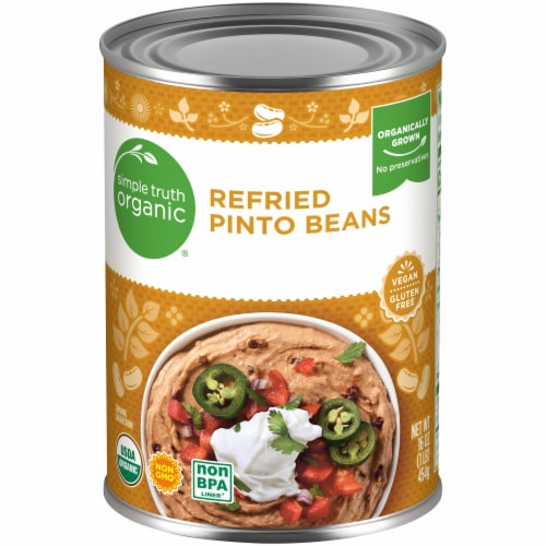 Simple Truth Organic® Refried Pinto Beans Perspective: front