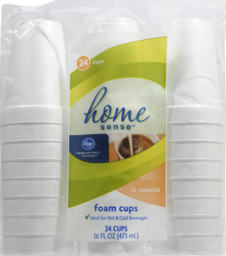 Kroger® Foam Cups - 24 Pack Perspective: front