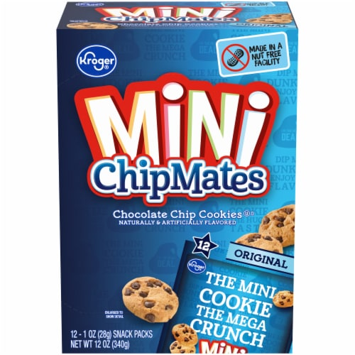 Kroger® Mini Chip Mates Snack Packs Perspective: front