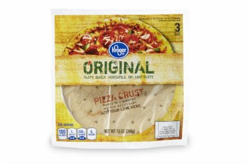 Kroger® Original Pizza Crusts Perspective: front