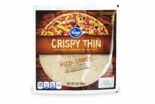 Kroger® Crispy Thin Pizza Crusts Perspective: front