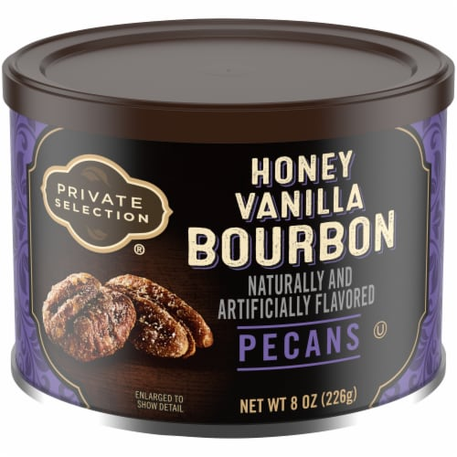 Private Selection® Honey Vanilla Bourbon Pecans Perspective: front