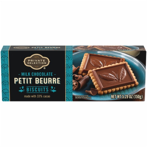 Private Selection™ Milk Chocolate Petit Beurre Biscuits Perspective: front