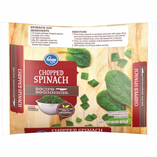 Smith's Food and Drug - Kroger® Chopped Spinach, 10 oz