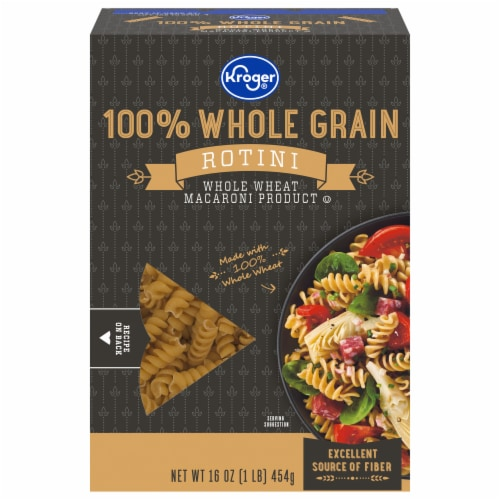 Kroger® 100% Whole Grain Salad Rotini Pasta Perspective: front