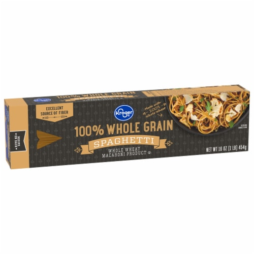 Kroger® 100% Whole Grain Spaghetti Perspective: front