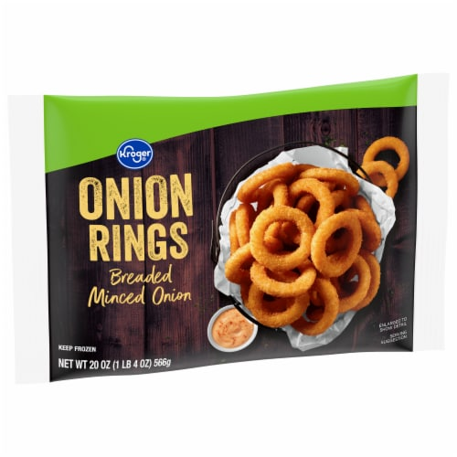 Kroger® Minced Breaded Onion Rings Perspective: front
