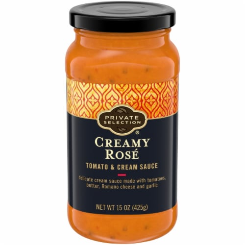 Private Selection® Creamy Rose Tomato & Cream Sauce Perspective: front