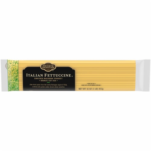 Private Selection® Italian Fettuccine Pasta Perspective: front