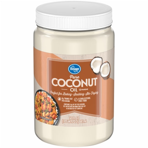 Kroger® Pure Coconut Oil Perspective: front