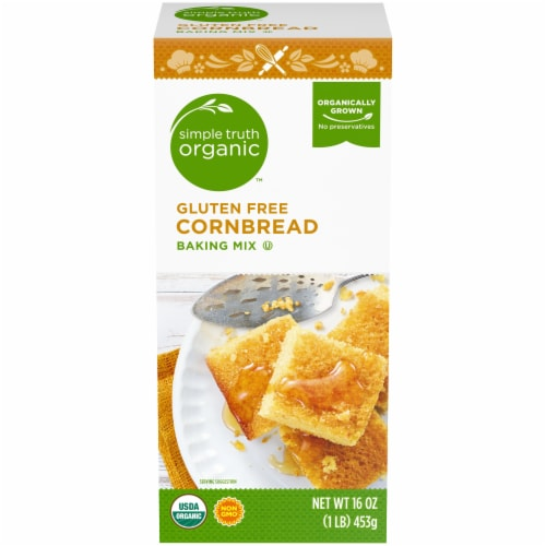 Simple Truth Organic™ Gluten Free Cornbread Baking Mix Perspective: front