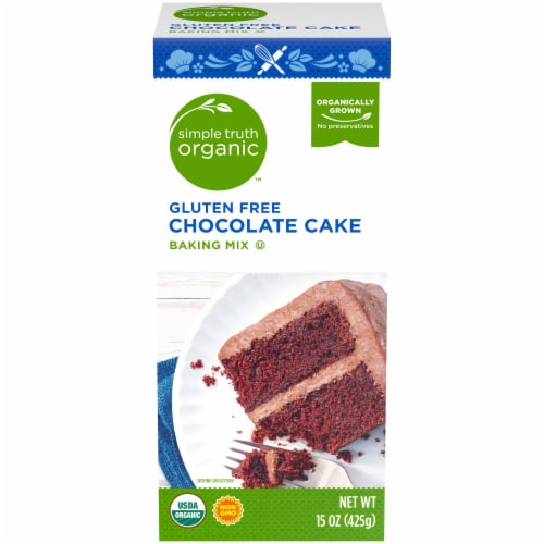 Simple Truth Organic™ Gluten Free Chocolate Cake Baking Mix Perspective: front