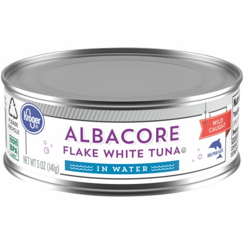 Kroger® Flake White Albacore Tuna in Water Perspective: front