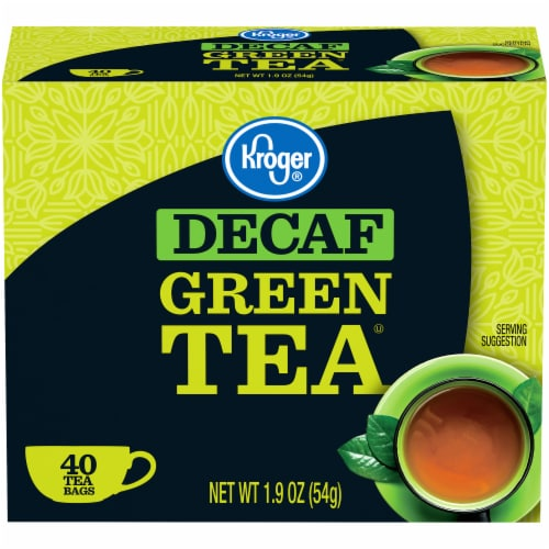 Kroger® Decaf Green Tea Bags Perspective: front