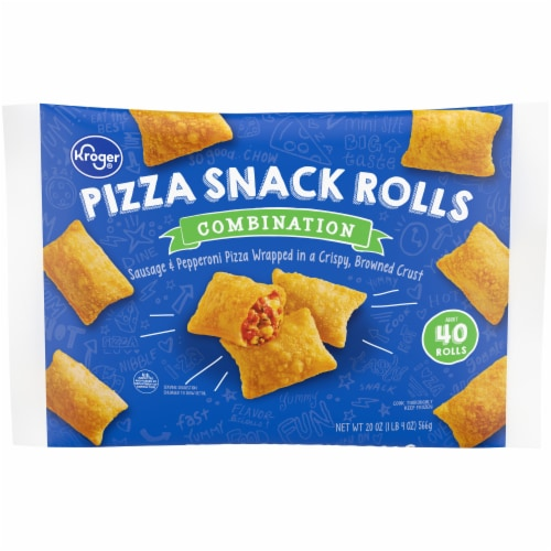 Kroger® Combo Pizza Snack Rolls Perspective: front